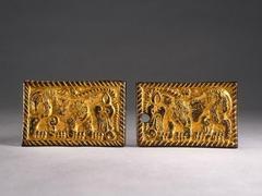Two Belt Plaques
