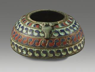 image An Enamel Vessel Section