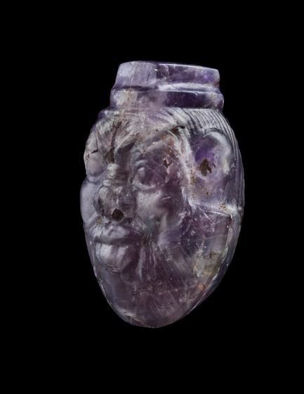 Bead Amulet in the form of Bes