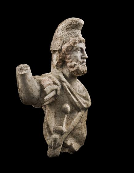 Warrior with Phrygian Cap