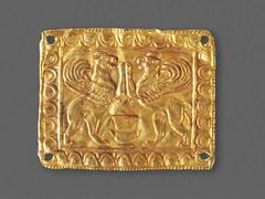 image Pair of Plaques depicting Griffins