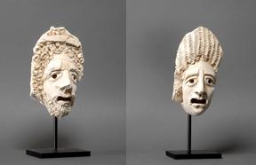 mobile version - Two Tragic Theatre Masks