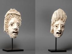 Two Tragic Theatre Masks