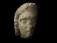 Fragmentary Head of a Male