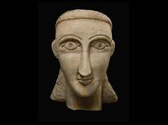 Over-lifesized Female Head