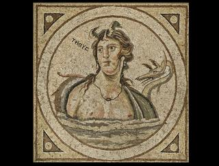 mobile version - Mosaic depicting Tethys